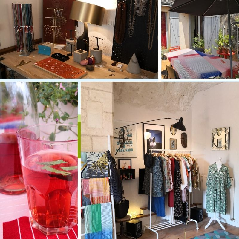 Pop up store fleurenplume rochecorbon